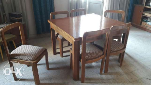 Wooden furniture massif good condition