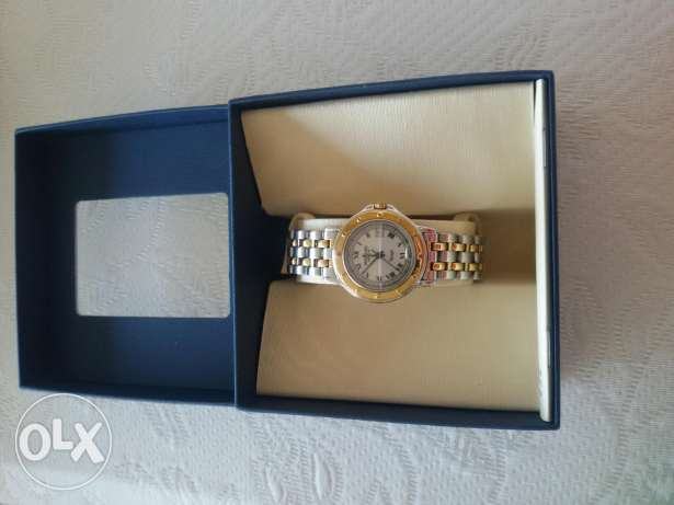ReymondWeil two tone woman's watch