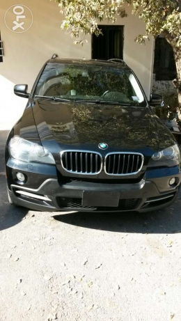 Newly arrived Black on black 2008 x5 low mileage sport package كسروان -  7
