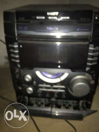 sterio sony with video cd