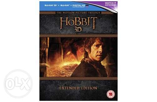 The Hobbit Trilogy Extended Region Free (3D)