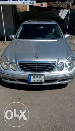 Mercedes E 350 model 2006 full option 03/843812