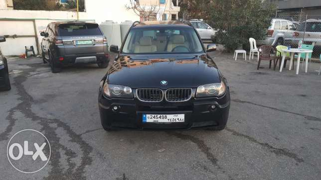 Bmw X3 3.0si full options one owner low mileage very clean تقسيط بنك