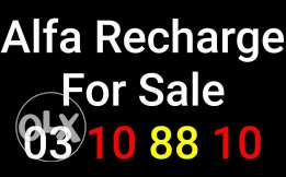 Alfa Recharge For Sale