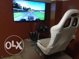 PS 3 + driving recaro seat ( DSG and Manual ) + 46 inch LCD