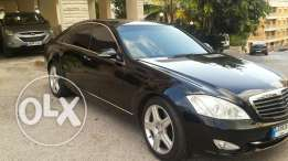 Mercedes S500 Germany black 2006