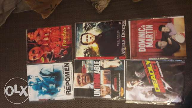 6 films for sale