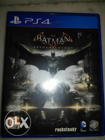 Batman Arkham Knight PS4 cd