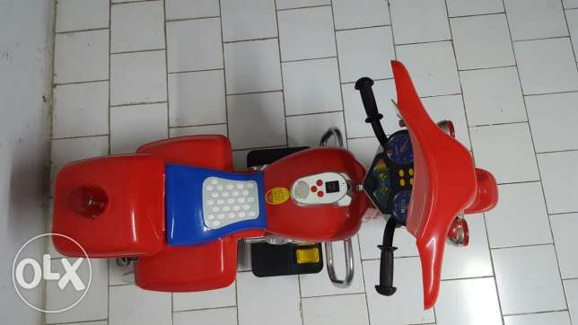 Red Electric Moto For Sale بشامون -  3