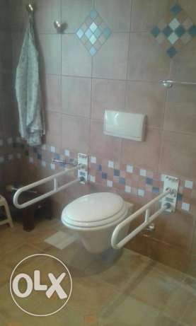 Flip-Up Double Grab Bar - Assistance in the bathroom