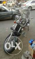 Moto honda steed like new