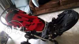 stroller for twins with 2 bassinets