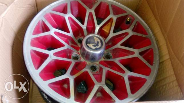 Pontiac trans am original rims