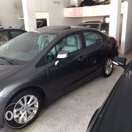 honda civic EXL model 2012 jeld w fat7a w jnota صرفند -  2