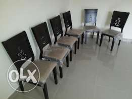 chairs for sale new in perfect conditions