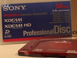 sony professional disk 50g