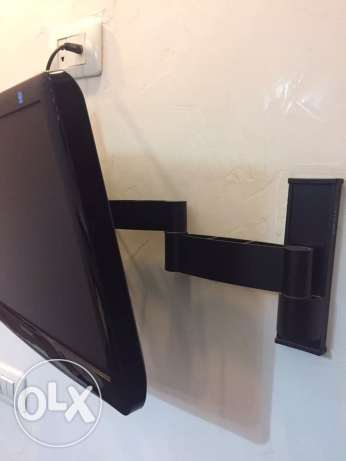 "Samsung TV 21"" led with removable tv rack"