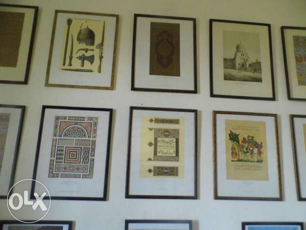 Two Arab Art lithographs collection your choice for $ 65