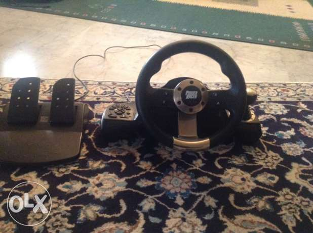 wirless steering wheel+pads and triptronic gear