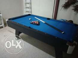 Billiard table 7 ft blue