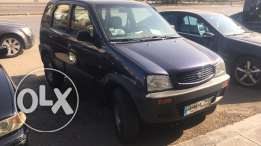daihatsu terios mod 98 full option 4x4