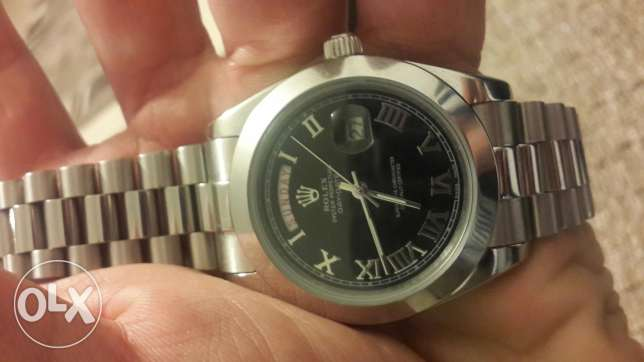 Rolex oyster perpetual day date - replica - new بعبدا -  2