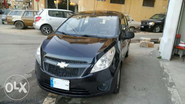 Chevrolet Spark LS Black Automatic Company Source & Maintenance As New