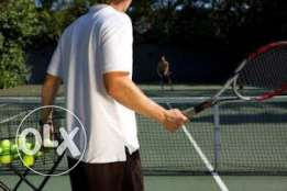 coach tennis,the first one hour free ,35$ with a pitch