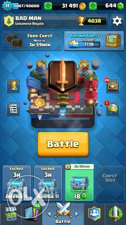 Clash royal for sale . inbox me for price