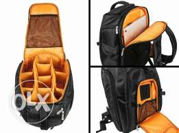 Pro camera &laptop backpack
