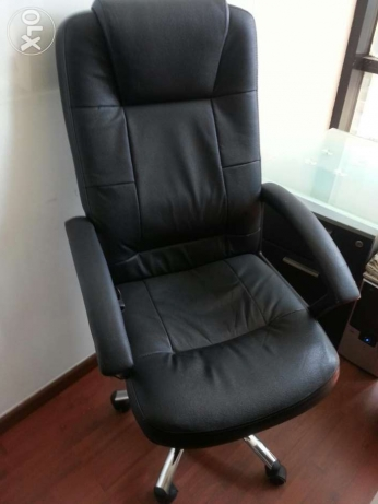 Office chair with massage options