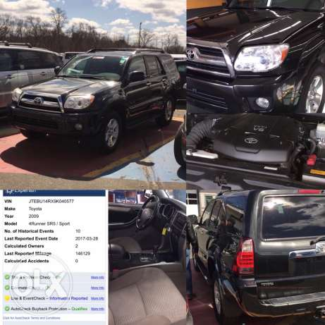 Toyota 4runner clean carfax coming soon