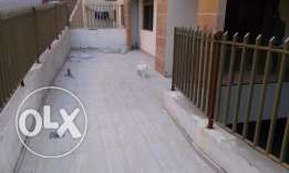 Apartment 115m2 with 40m2 terrace in zouk mosbeh