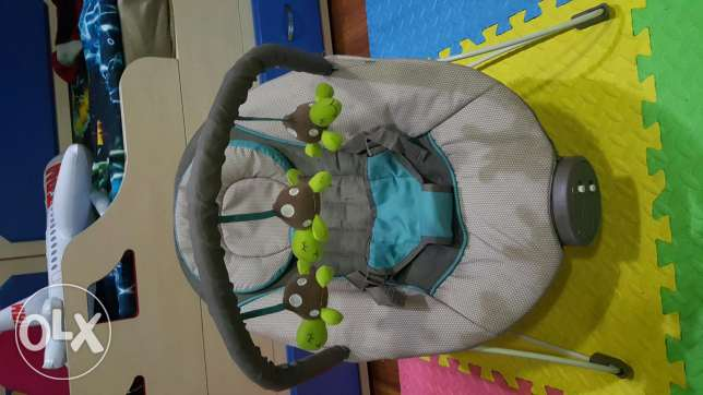 hammock chair for toddlers. music, toys and vibration.