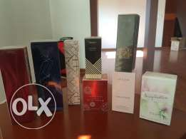 Oriflame brand new 8 perfums