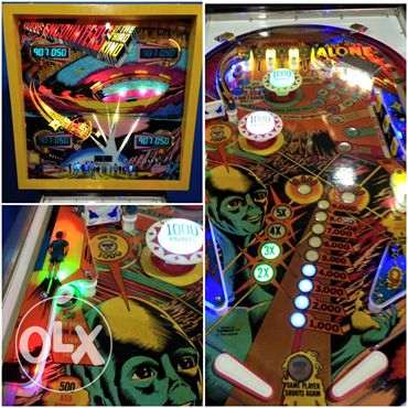 Close Encounters of the third Kind Flipper pinball by Gottlieb 1978