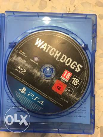 PS4-Watch Dogs For trade or sale بقنايا -  1