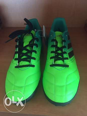 Adidas Ace 17.4 TF - Solar Green/Core Black/Core Green