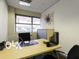 Beirut best offices - Well furnished.