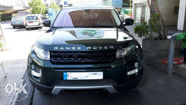 Range Rover Evoque 2012 pure plus بياقوت -  1