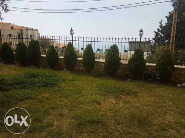 Fully Furnished Apartment in Kfarhbeb-Keserwan with a Wide Garden.