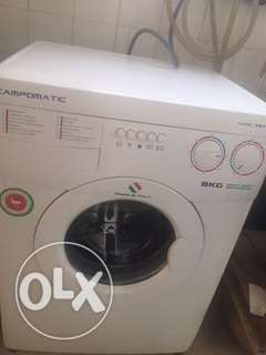 Washing Machine Jumbo 8kgs -Campomatic- Italy