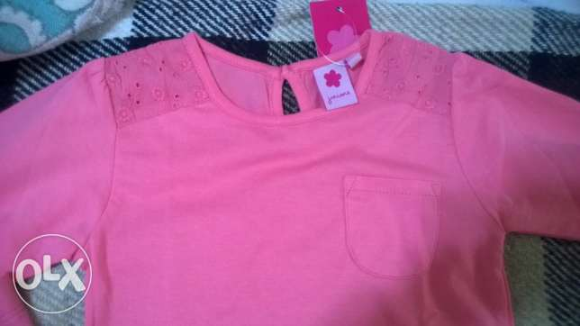 leggings, t-shirt and cardigan juniors size 2-3 years البطركية -  2