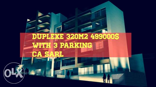 Duplexe martakla 320 m2 with view