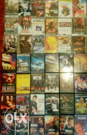 238 DVD Movies / Best movies ever only for $60 !