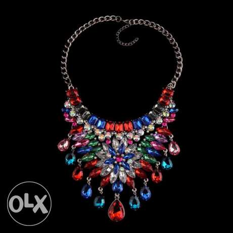 Bohemia Crystal Necklaces & Pendants Luxury #12 راس  بيروت -  3