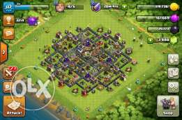 Clash of clan th9 max with iphone 4s