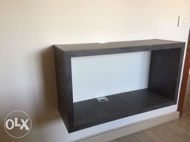 strong tv wall stand cabinet- perfect condition