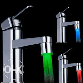 LED 7 changing colors faucet aerator (4 pics)