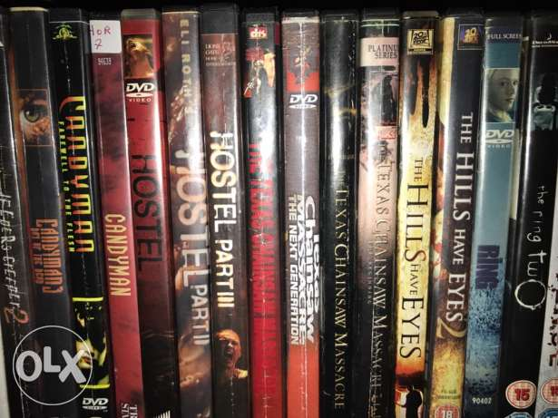 Dvd Movies & Metal Music Concerts For Sale + Horror Figures